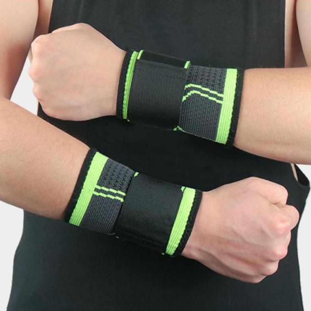 Дышащий ортопедический бандаж для поддержки запястья, Регулируемый Эластичный компрессионный бандаж, аксессуары для фитнеса и тяжелой атл...