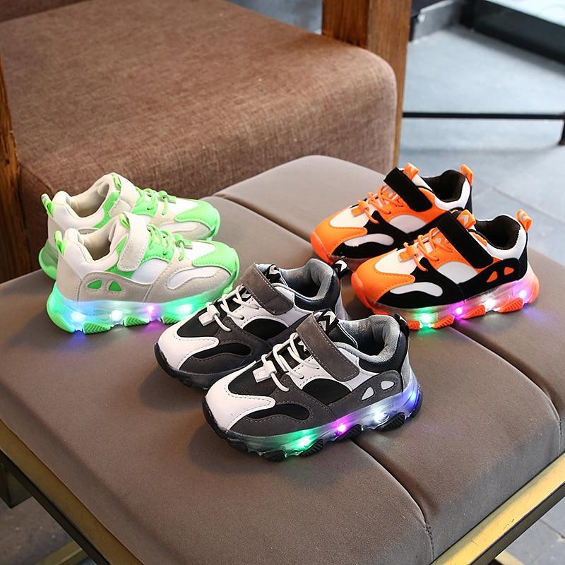 أحذية رياضية مضيئة للأطفال ، أحذية رياضية بإضاءة Led ، أحذية أطفال ، أحذية أطفال ، مجموعة جديدة 2020