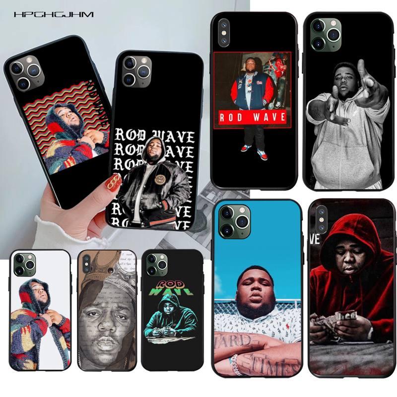 Hpchcjhm haste onda diy pintado bling caso de telefone para iphone 11 pro xs max 8 7 6s plus x 5S se 2020 xr