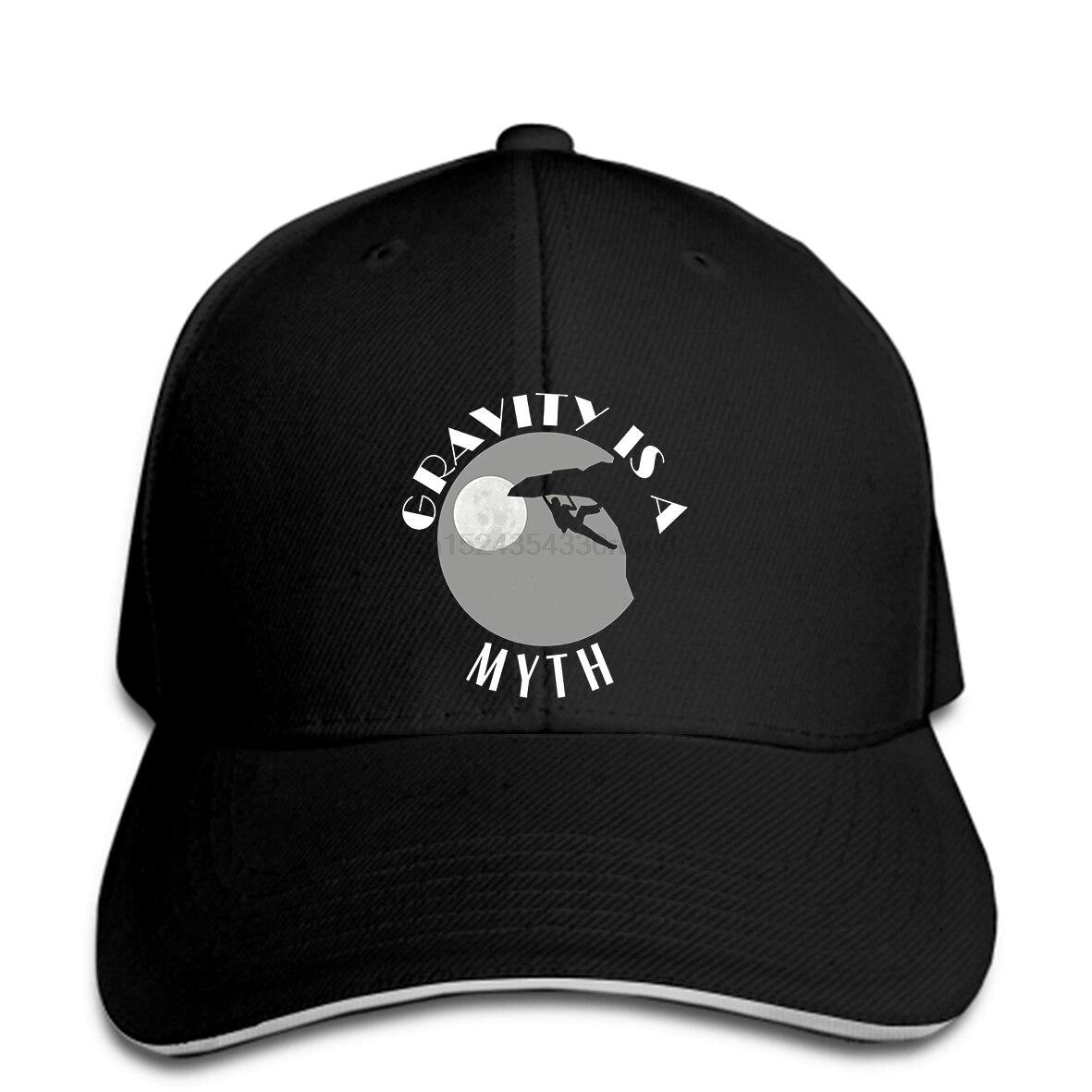 Gorra de béisbol para hombre, divertida roca para escaladores, genial gorra Snapback estampada, gorra con visera