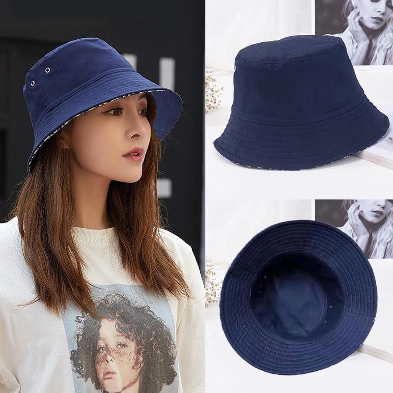 2021 Branded Luxury Summer Embroidery Bucket Hat For Men Women Fashion design-Diors Cotton Bob Panama Sun Hat Beach