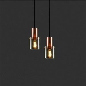 Modern Glass Pendant Lamp Led Hanging Light Fixture Living Dining Bedroom Bedside Bar Decor Minimalist Lighting Nordic Luminaria