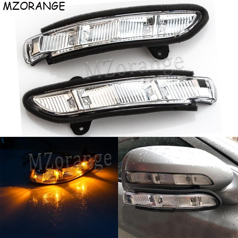 Указатель поворота бокового зеркала заднего вида Светодиодная лампа для Mercedes-Benz W211 W221 W219 2007-2011 E320 E350 E550 E63 S600 S550 повторитель