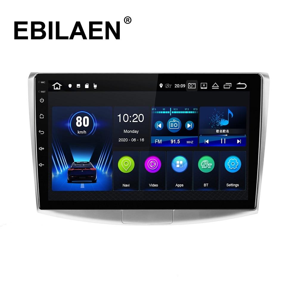 EBILAEN-راديو السيارة متعدد الوسائط مع نظام تحديد المواقع العالمي (GPS) ، راديو مع مشغل ، Android 10.0 ، ملاح ، كاميرا DVR ، لـ VW ، Volkswagen Passat B7 ، B6 ، CC ، 1din