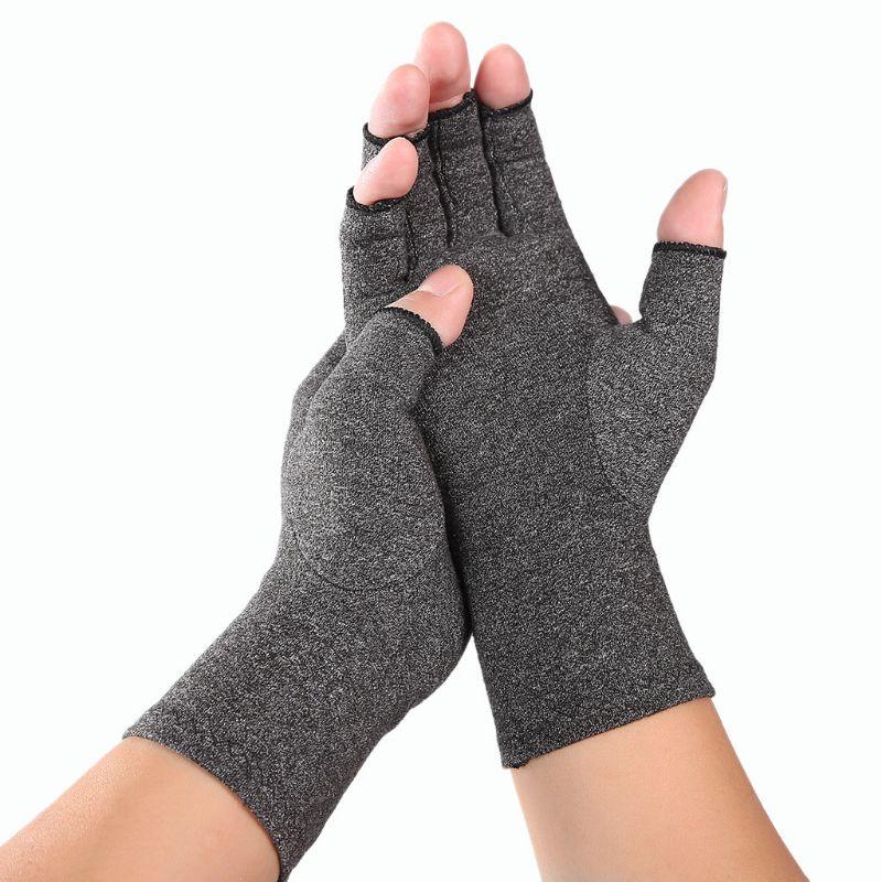 hans georg schaible pain in osteoarthritis Women Men Arthritis Compression Gloves Fingerless Joint Pain Relief Rheumatoid Osteoarthritis Hand Wrist Support Therapy Mittens
