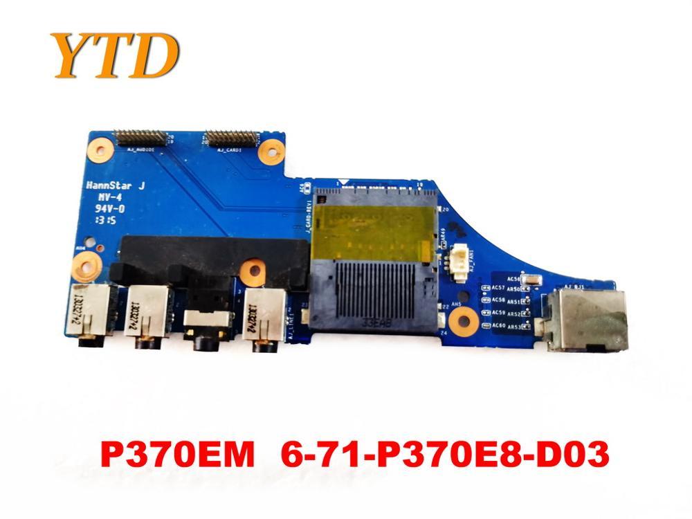 Original FÜR Clevo P370EM Audio board P370EM 6-71-P370E8-D03 getestet gute freies verschiffen