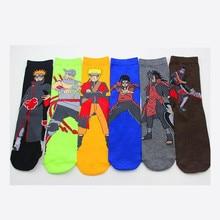 Anime NARUTO Uzumaki Naruto Cosplay accessoires coton chaussette Akatsuki rouge nuage symbole bas enfant adulte tuyau chaussettes cadeaux nouveau