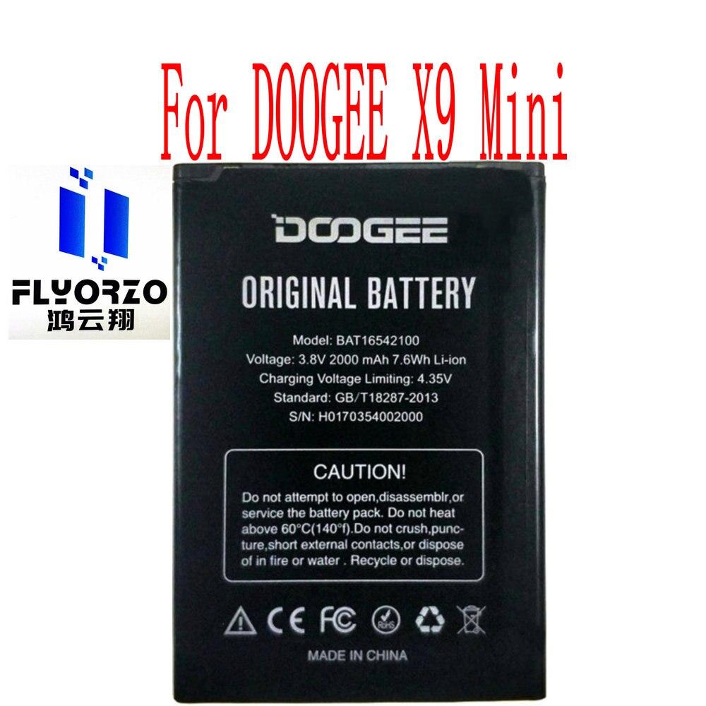 Batería de alta calidad 2000mAh BAT16542100 para Mini teléfono móvil DOOGEE X9
