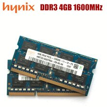 Hynix chipset 2GB 4GB 8GB PC3L 12800S DDR3 2G 4G 8G 1600 Mhz laptop Speicher Notebook Modul SODIMM RAM