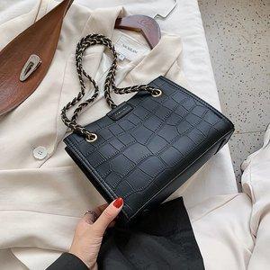 High Capacity PU Leather Shoulder Bags For Women 2020 SCrossbody Messenger Bag Female Winter Travel Handbags and Purses