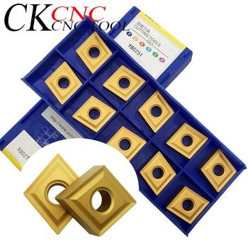 10pcs CNMG120404 YBC251 CNMG431 PM YBC251 INSERT  CUTTING TOOL blade High cost performance