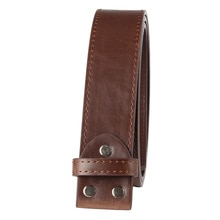 Cinturón de cuero sintético para hombre, sin hebilla, hecho a mano, accesorios de bricolaje, 3,8 cm, d1