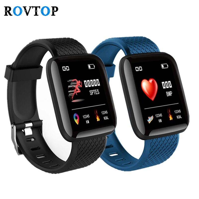 Смарт-часы 116 Plus, фитнес-браслет, артериальное давление, пульсометр Android, шагомер D13, водонепроницаемые спортивные Смарт-часы, браслет Z2
