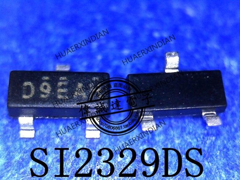 1 peças novo original SI2329DS-T1-GE3 tipo d9eah sot-23 em estoque imagem real