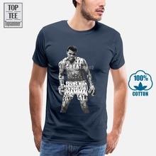 Muhammad Ali T-Shirt pour filles T-Shirt surdimensionné Harajuku chemise surdimensionné T-Shirt Hip Hop T-Shirts noir T-Shirt hommes T-Shirt A0087