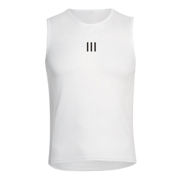 Ropa interior deportiva para ciclismo para hombre, camisa de malla sin mangas...