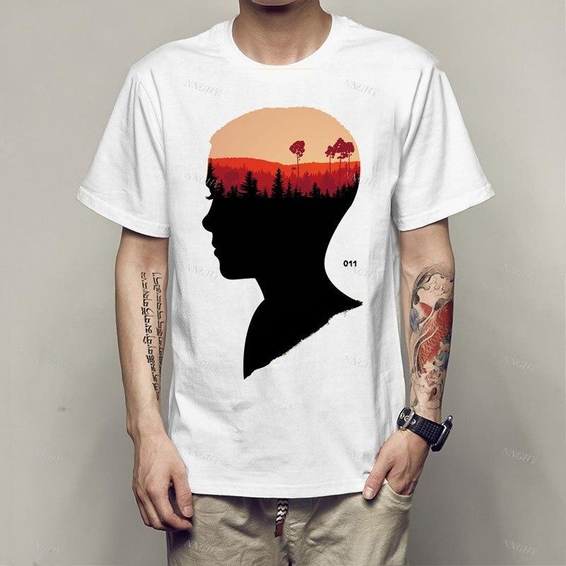Camiseta deportiva para hombre, Camisetas modales con estampado gráfico, ropa de calle