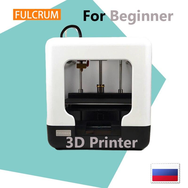 FULCRUM MINI impresora 3D FDM nivel de entrada para principiantes o adolescentes fácil de usar en casa para crear una impresora 3D Easythreed Rusia