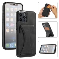 case for iphone 11 pro max 12 mini x xs xr 7 8 plus luxury magnetic leather wallet cover card slots shockproof flip phone fundas