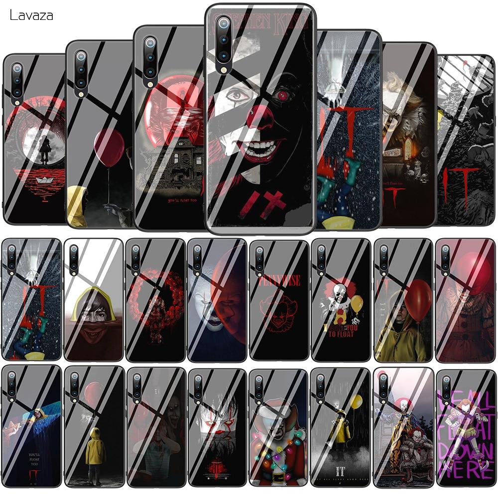 Lavaza Stephen Kings It Tempered Glass Soft Case for Xiaomi Redmi Note 5 6 7 Pro Mi 8 Lite 9 A1 A2 F1 TPU Cover