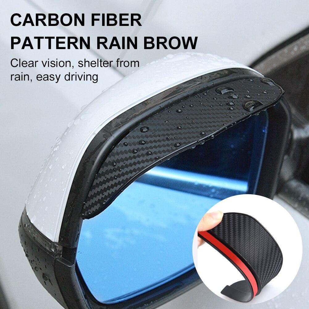 2 шт., универсальные чехлы для автомобильных зеркал заднего вида