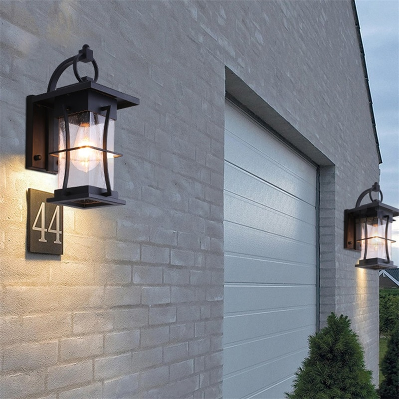 BROTHER New Outdoor Wall Light Classical LED Sconces Lamp Waterproof IP65 Decorative For Home Porch Villa enlarge