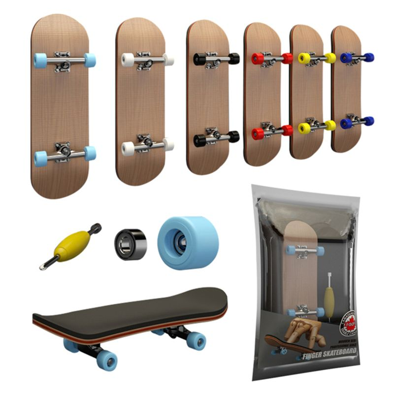 Dedo skate fingerboard brinquedo profissional stents dedo skate conjunto dxad