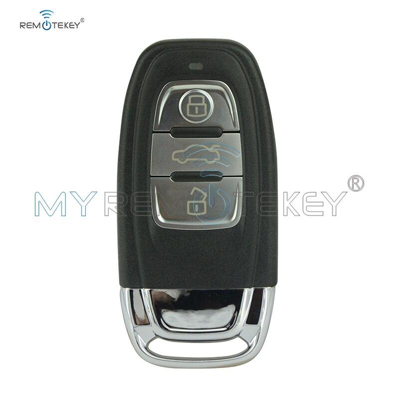 Remtekey inteligente de control remoto coche clave para Audi A4 A5 A6 S4 S5 Q5 SQ5 8T0 959 754C 868Mhz 8T0959754C 2007, 2008, 2009, 2010, 2011, 2012, 2013