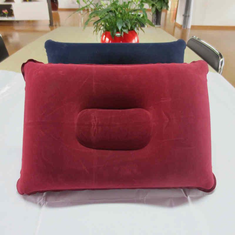 DIDIHOU-oreillers pliants gonflables pour cou   Nouveau, Portable, coussin dair confortable voyage daffaires, bon marché, extérieur