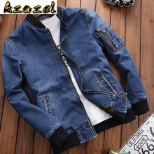 Vintage Men 's Jean Jackets Real Photo Imported Mens Denim Jacket and Coats Plus Size 4XL Overcoats