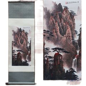 Rich Peony Pattern Silk Painting Decoration Scroll Painting Chinese Characteristics And The New Special