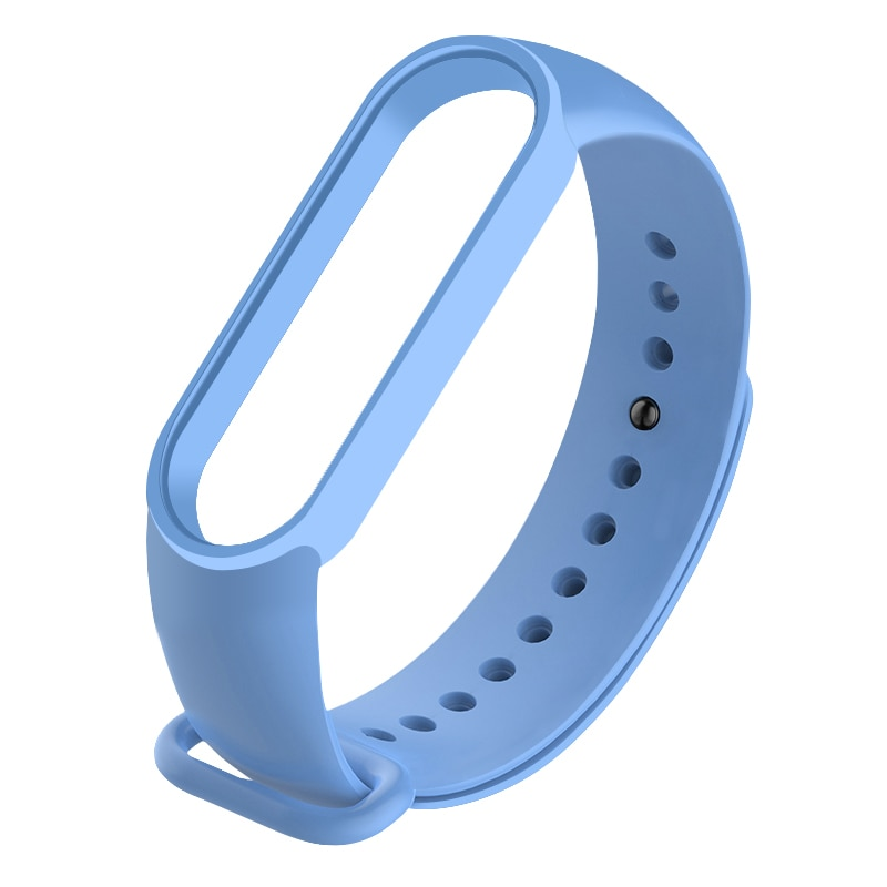 Pulsera reemplazable, accesorios para reloj inteligente Xiaomi Mi Band 5 M5, colorida Correa transpirable de silicona porosa Anti-sudor