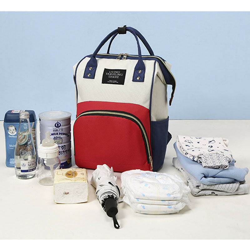 Goocheer 2019 moda mamá papá maternidad pañal bolsa bebé enfermería gran capacidad mochila de viaje