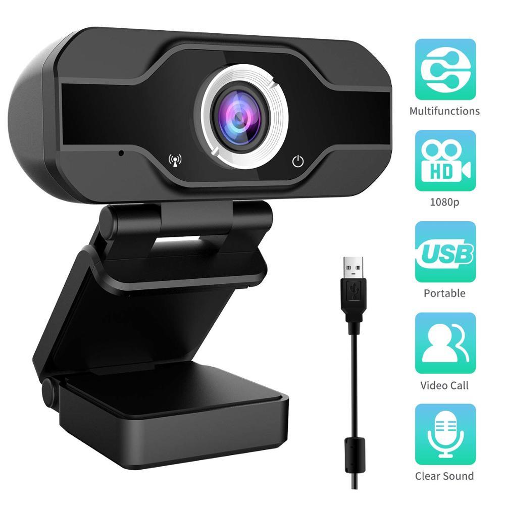 Megapixel High Definition Camera Web Cam 360 Degree Webcam USB MIC Clip-on for Laptop Desktop Computer Accessory