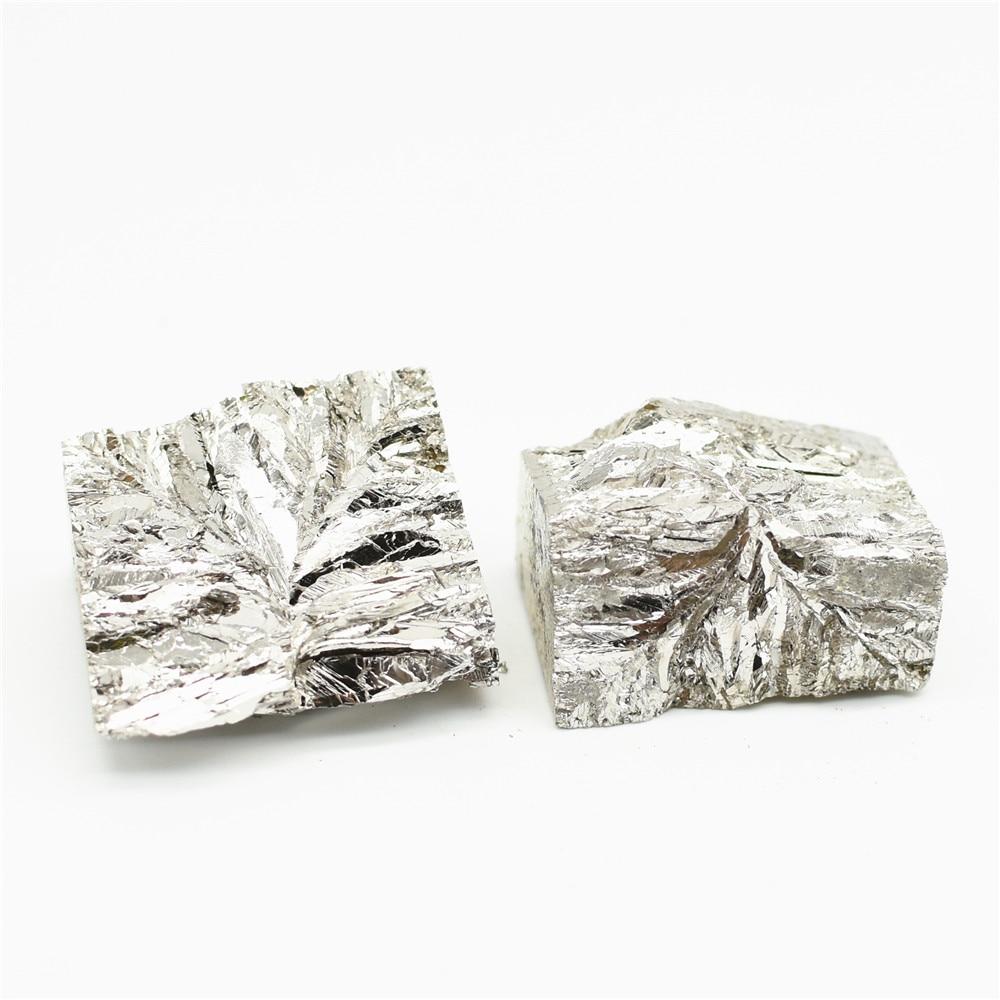 100-1000G Bismuth 4N Bi lingote de alta pureza 99.99% para investigación ciencia elemento objeto Metal sustancia refinada laboratorio experimental