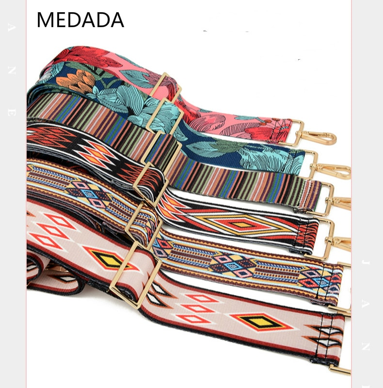 MEDADA Baggage fittings inclined adjustable strap to replace men's and women's wide shoulder strap