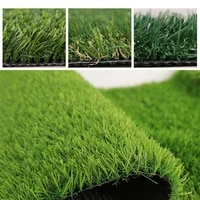 10mm super dense artificial turf grass mat fake synthetic landscape green garden quality golf lawn home high emerald yard f3r0