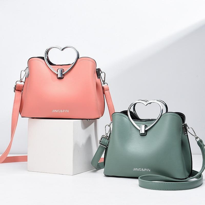 dm prime fênix bolsas de couro rosa e a verde