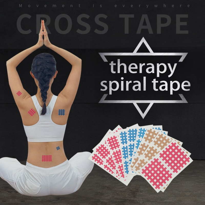 20 unids/caja la cinta terapia física la cinta transpirable deportes vendaje cinta...