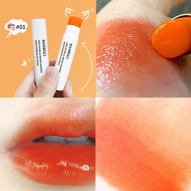 4.5g Waterproof Temperature Change Lipstick Moisturizing Long Lasting Easy To Fade Lip Balm Women Lipstick Lip Make Up Care недорого