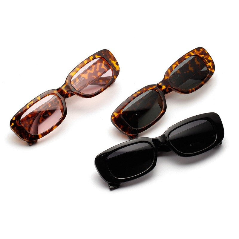 Gafas de sol Punk de moda marco PC lentes AC gafas de sol de viaje Retro gafas de sol ovaladas pequeñas mujeres