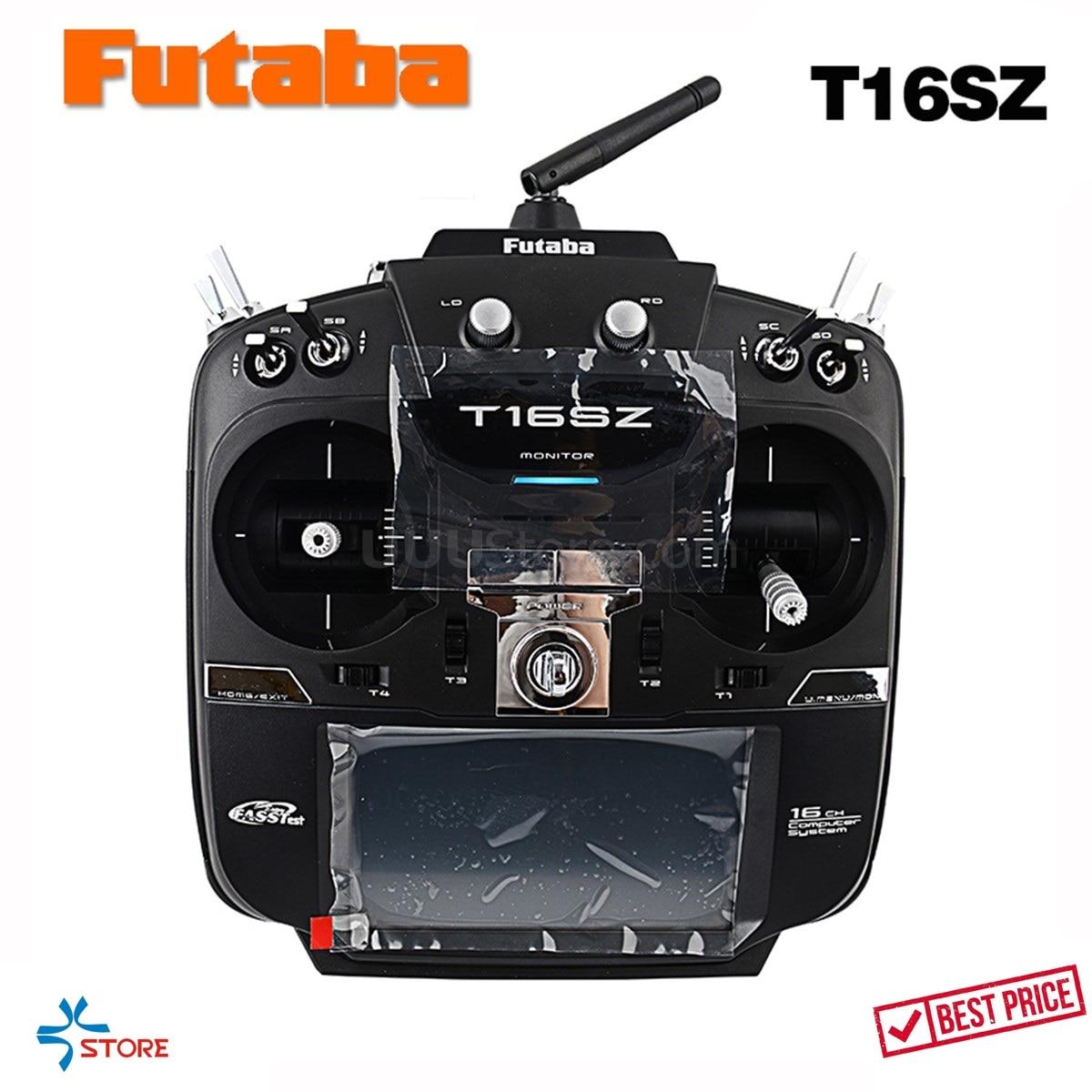Original Futaba 16SZ 2.4GHz FASST Transmitter Remote Control (Ni-MH) R7008SB receiver RC Radio for Airplanes Helis Drones