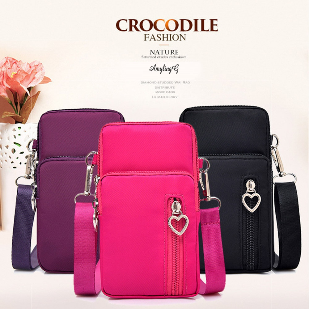 Phone bag For Infinix Hot 9 Play for Tecno Camon 11S 12 15 Air For Samung Galaxy A71 A81 A91 A10 sports bag shoulder bag wallet