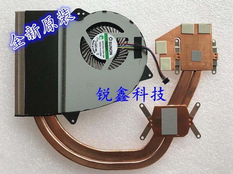 Ventilador Nueva CPU/disipador térmico para radiador ASUS ZX50J GL552 GL552JX FX-PLUS 4720 fx-pro MF75120V1-C251-S9A DC5V 2,25 W