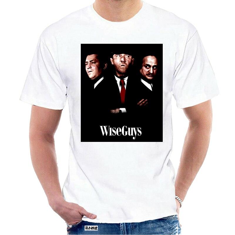 T Shirt Drei Handlanger Kluge Jungs Goodfellas Pose Moe Larry Lockige Humorvoll T Hemd S-3XL Baumwolle kurzarm T hemd 7659Y