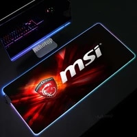msi mouse pad xxl led rgb big size mousepad gamer play mats gaming for keyboard laptop computer pc desk mat pads anime mouse mat