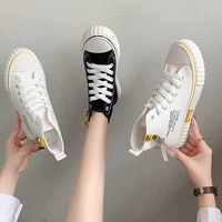 tenis feminino 2021 high top sneakers canvas breathable women tennis shoes sport gym athletic jogging light lace up shoes female
