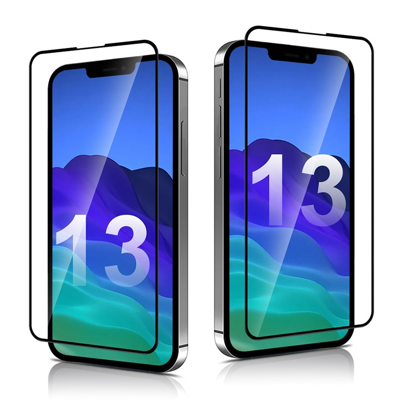 aliexpress.com - Protective Glass On the For iPhone 13 12 11 Pro Max XR SE Screen Protector For iPhone 13 12 11 Pro XS Max X 7 8 6 Tempered Glass