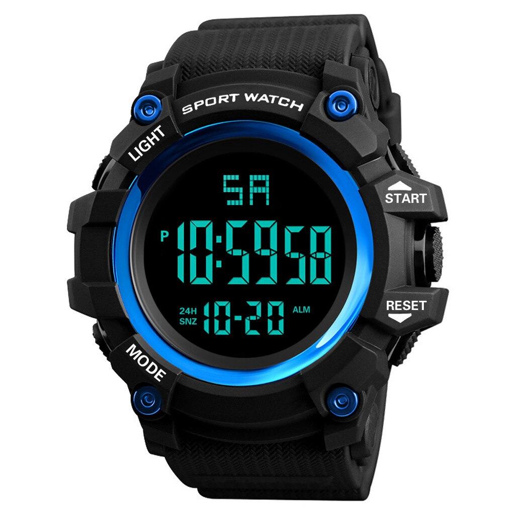 Honhx esporte dos homens relógio digital led data relógio eletrônico ao ar livre esporte casual led relógios de pulso relogio digital