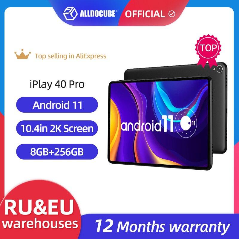 World Premiere ALLDOCUBE iPlay 40 Pro 10.4 inch  2K Tablet PC Android 11 8GB RAM 256GB ROM Octa Core T618 4G Lte PhoneTablet
